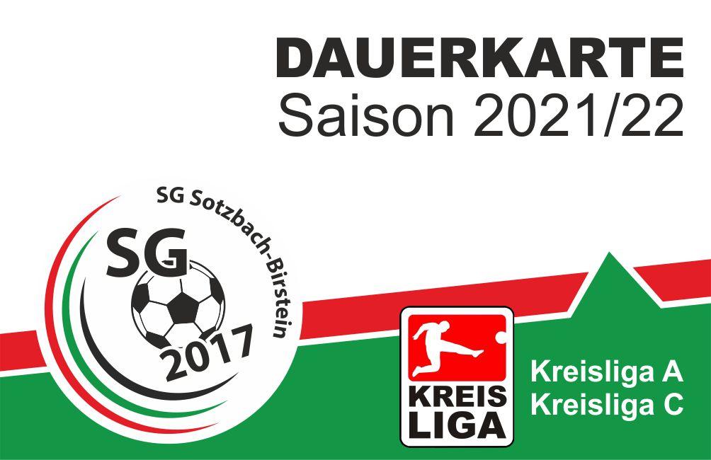 Dauerkarten für Saison 2021/2022 jetzt erhältlich